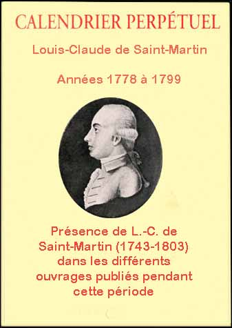 Calendrier perpetuel 1801 1809
