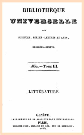 1832 bibliotheque universelle t3