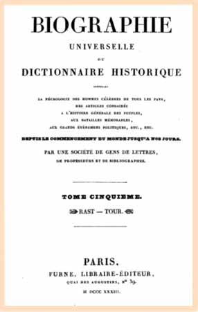 1833 biographie universelle t5