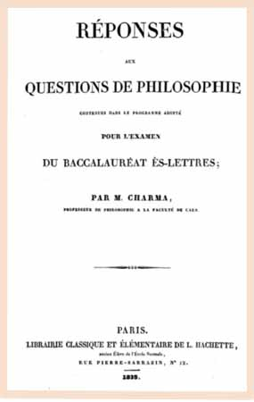 1835 questions philo
