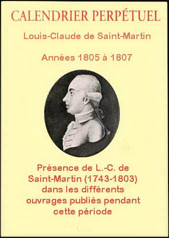 Calendrier perpetuel 1805 1807